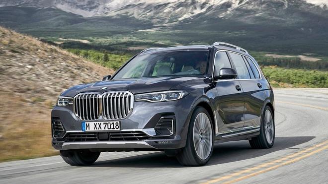 'Khung long' BMW X7 2019 co gia tu 74.000 USD hinh anh