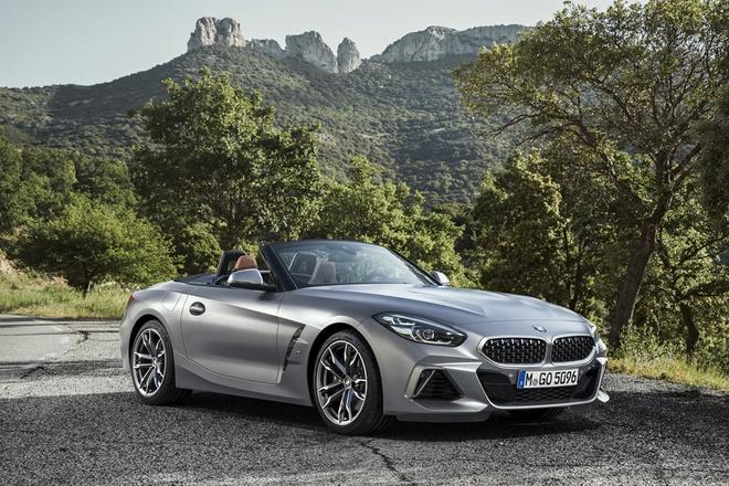 BMW Z4 Roadster 2020 ro ri gia ban tu 65.000 USD tai My hinh anh