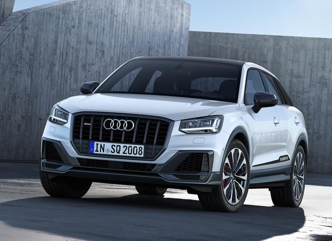 Audi SQ2 2019 - SUV hieu suat cao manh 300 ma luc hinh anh