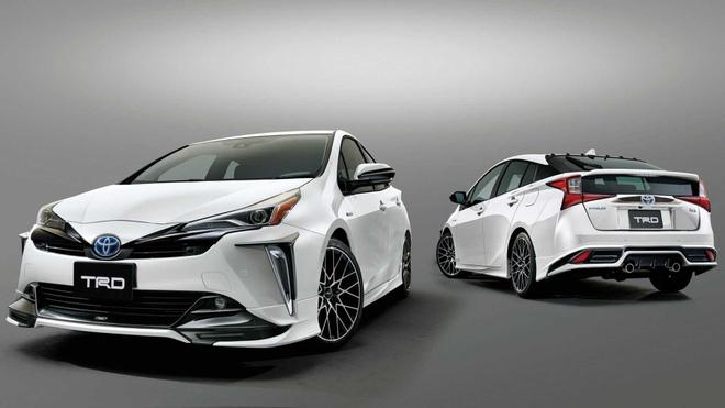 Toyota Prius 2019 the thao va ca tinh hon voi phien ban TRD hinh anh