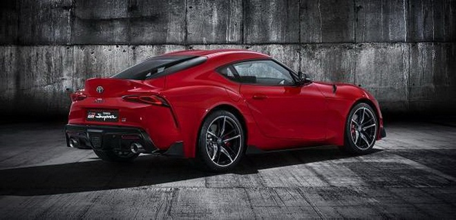 Toyota Supra 2020 lo anh toan than anh 2