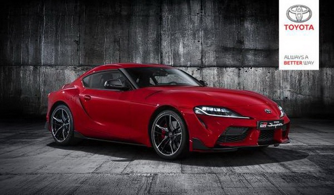 Toyota Supra 2020 lo anh toan than anh 1