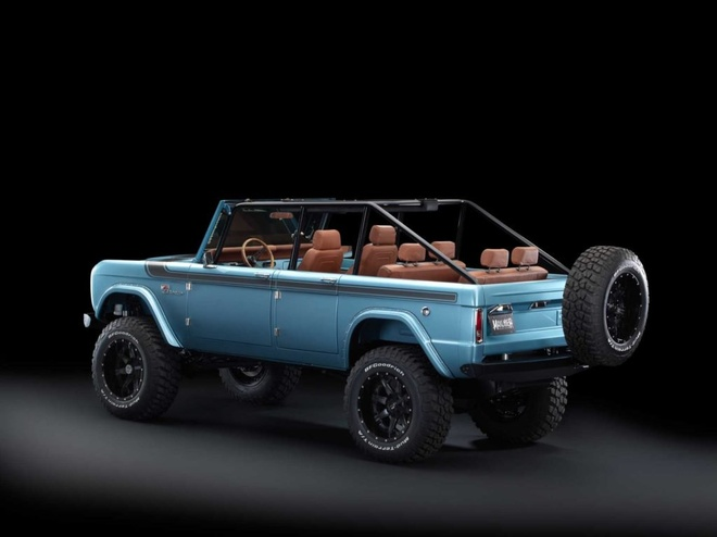 Xe co Ford Bronco 1966 manh 670 ma luc anh 2
