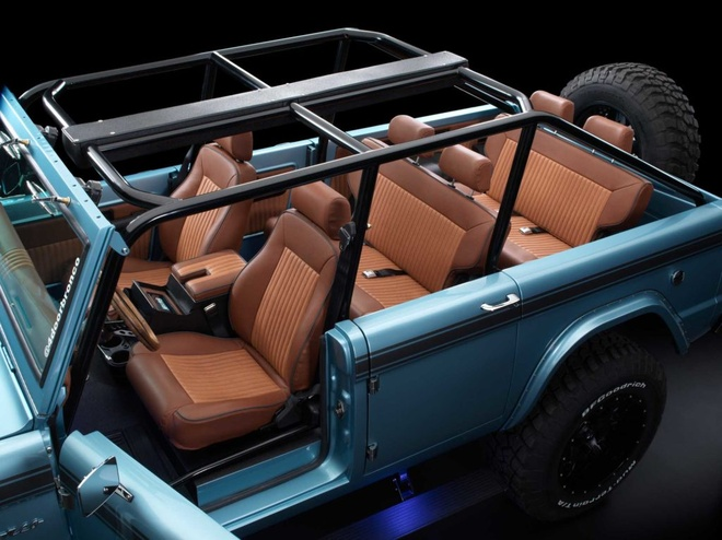 Xe co Ford Bronco 1966 manh 670 ma luc anh 4