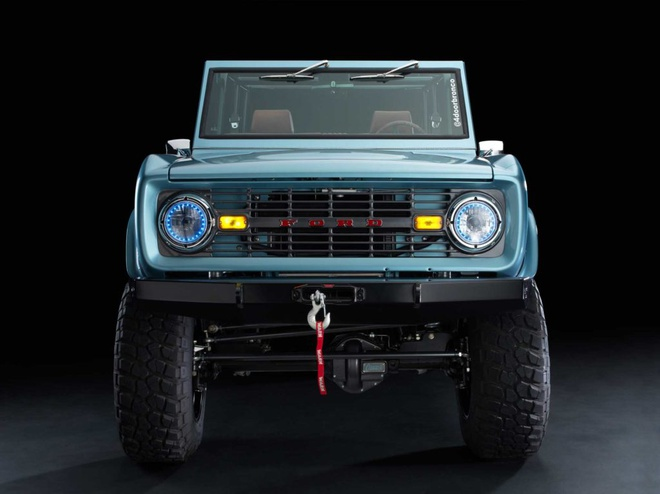 Xe co Ford Bronco 1966 manh 670 ma luc anh 7