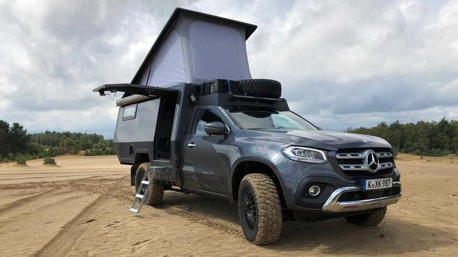 Mercedes-Benz X-Class ban 'ngoi nha di dong' gia tu 205.000 USD hinh anh