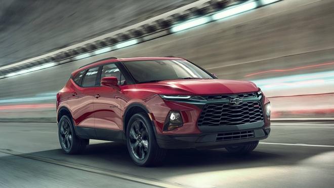 Chevrolet Blazer 2019 - SUV 5 cho gia toi da 65.000 USD hinh anh