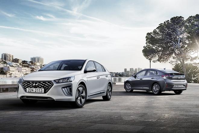 Xe xanh Hyundai Ioniq 2020 chinh thuc ra mat hinh anh