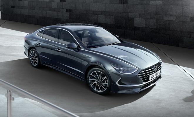 Hyundai Sonata 2020 ra mat, lot xac hoan toan hinh anh