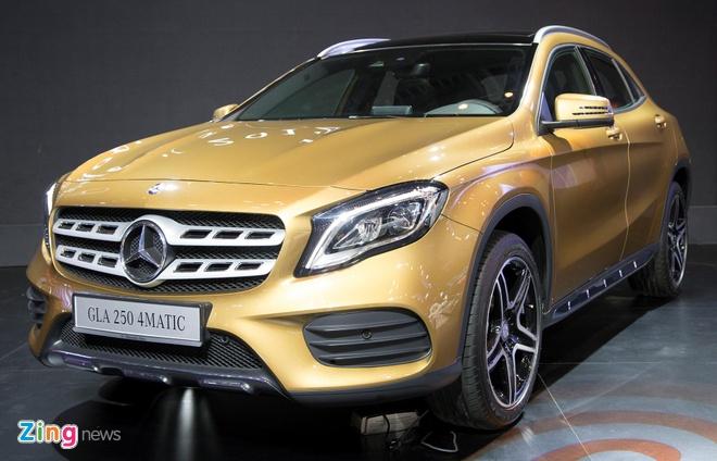 Nhung lua chon co the thay the Mercedes-Benz GLA tai VN hinh anh 2