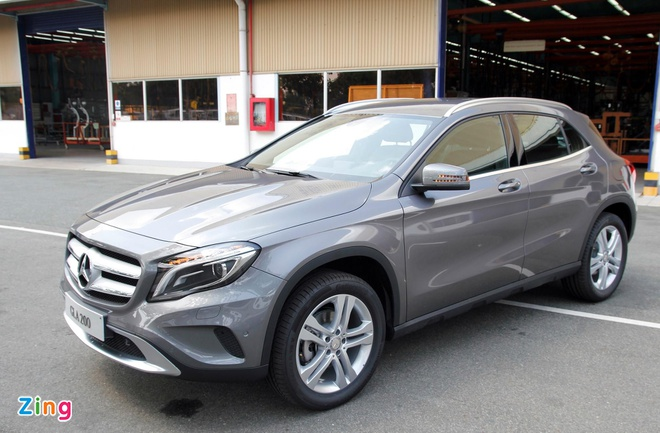 Nhung lua chon co the thay the Mercedes-Benz GLA tai VN hinh anh 1
