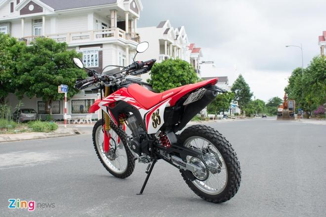 Danh gia Honda CRF150L - cao cao cho nguoi moi, khong danh cho di pho hinh anh 13