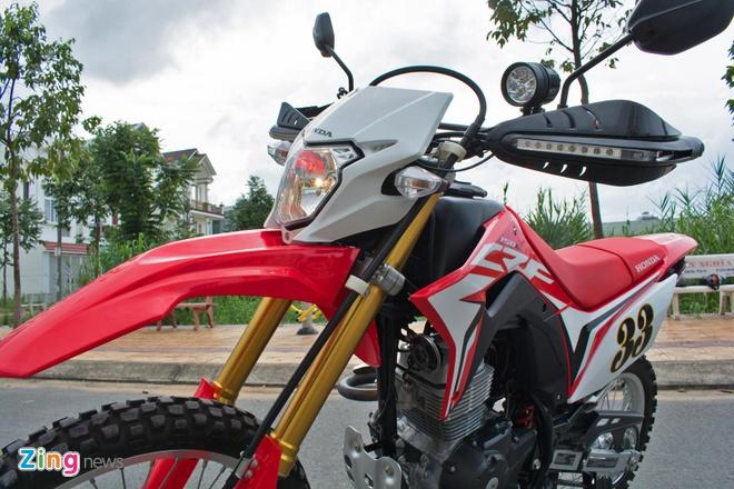 Danh gia Honda CRF150L - cao cao cho nguoi moi, khong danh cho di pho hinh anh 12