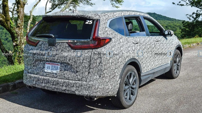 Honda CR-V 2020 lo dien nhung hinh anh dau tien hinh anh 3