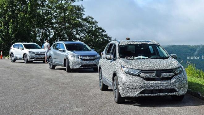 Honda CR-V 2020 lo dien nhung hinh anh dau tien hinh anh 1