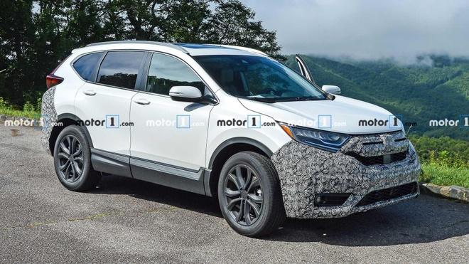 Honda CR-V 2020 lo dien nhung hinh anh dau tien hinh anh 2