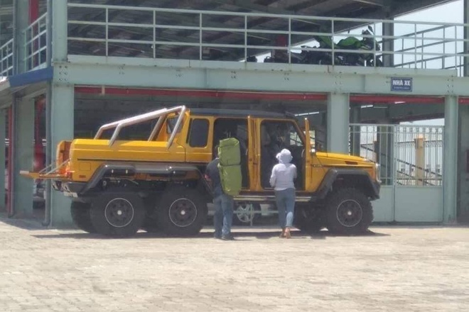 Mercedes-AMG G 63 6x6 anh 1