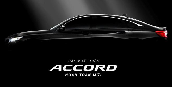 Honda Accord 2019 sắp bán tại Việt Nam vào cuối năm, giá khoảng 1,2 tỷ