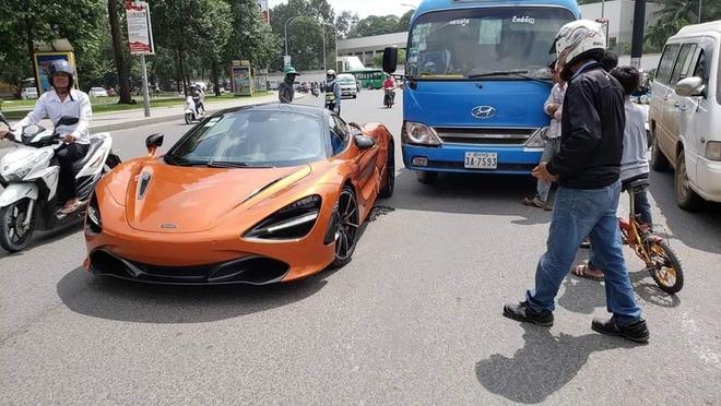 McLaren 720S tai nan tai Campuchia anh 1