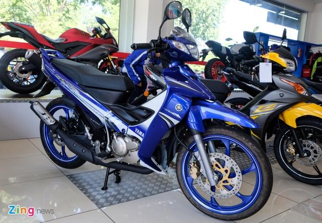 Xe con tay Yamaha 'Z' o Malaysia voi gia bang 1/3 tai Viet Nam hinh anh 1