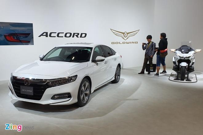 Honda Accord 2019 ra mat tai Nhat la ban nhap Thai Lan hinh anh 9