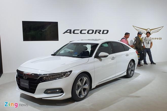 Honda Accord 2019 ra mat tai Nhat la ban nhap Thai Lan hinh anh 1