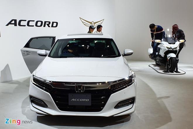Honda Accord 2019 ra mat tai Nhat la ban nhap Thai Lan hinh anh 2