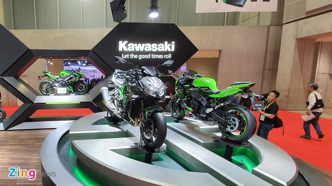 Kawasaki Z H2 ra mat anh 1