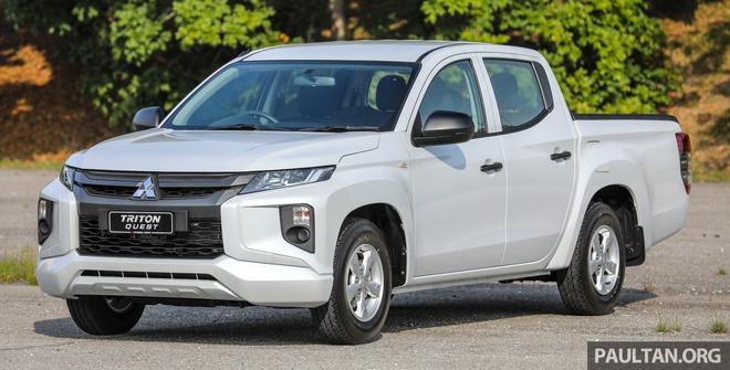 Mitsubishi ra mat Triton ban gam thap tai Malaysia hinh anh 1