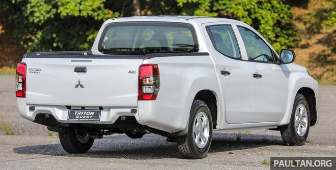 Mitsubishi ra mat Triton ban gam thap tai Malaysia hinh anh 7