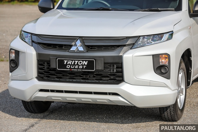 Mitsubishi ra mat Triton ban gam thap tai Malaysia hinh anh 3