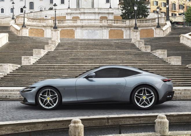 Sieu xe Ferrari Roma ra mat hinh anh 2