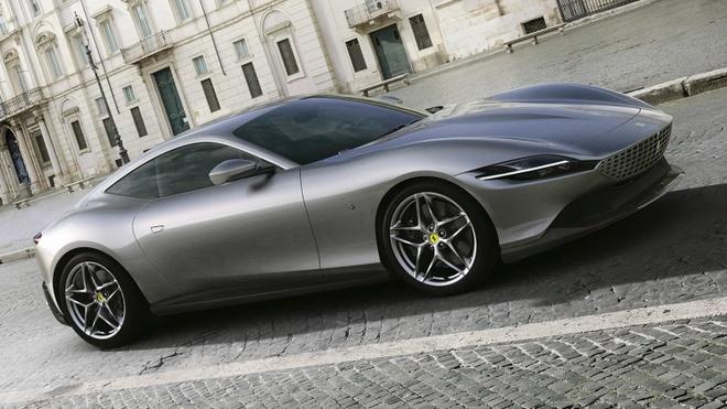 Sieu xe Ferrari Roma ra mat hinh anh 1