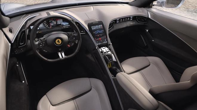 Sieu xe Ferrari Roma ra mat hinh anh 3