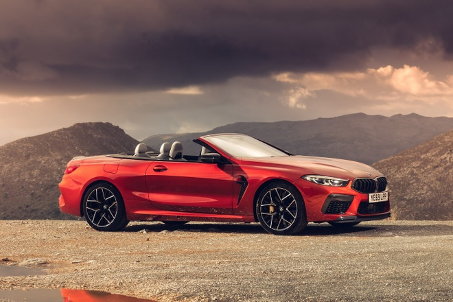 Ve dep cua BMW M8 Competition hinh anh