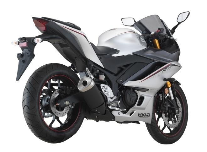 Yamaha YZF-R25 2020 ra mat, nang cap nhe thiet ke, them mau moi hinh anh 2 2020_Yamah_YZF_R25_15.jpg