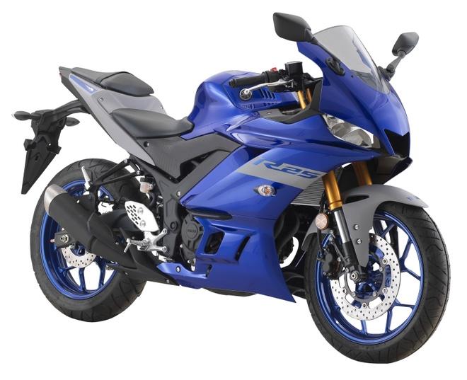 Yamaha YZF-R25 2020 ra mat, nang cap nhe thiet ke, them mau moi hinh anh 1 2020_Yamah_YZF_R25_8.jpg