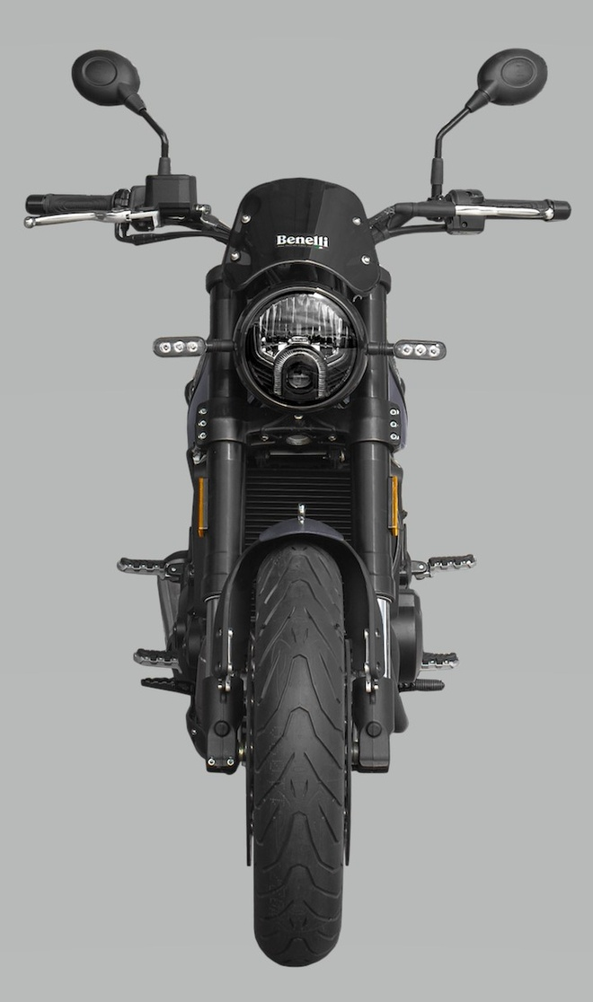Benelli Leoncino 500 2020 ra mat anh 3
