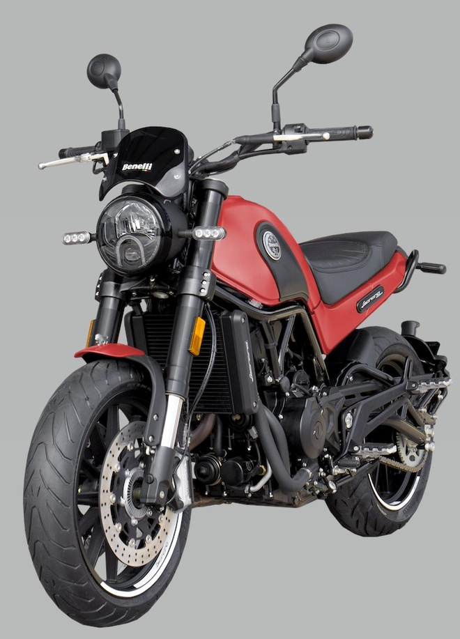Benelli Leoncino 500 2020 ra mat anh 1