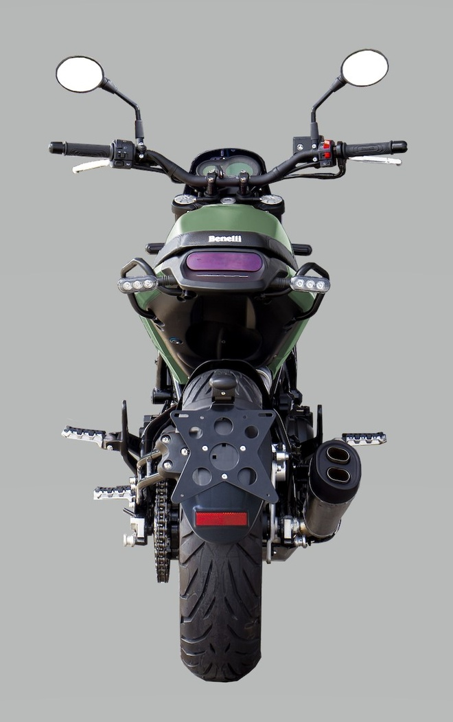 Benelli Leoncino 500 2020 ra mat anh 5