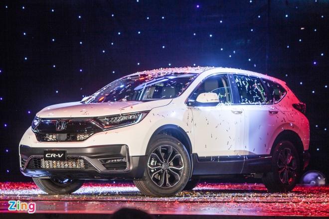 Honda ra mat CR-V 2020 trong hom nay anh 1