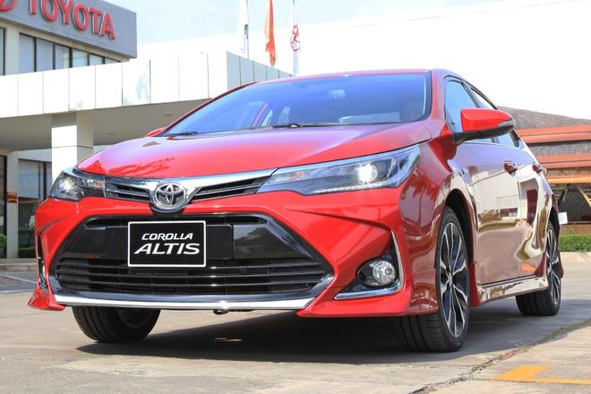 Toyota ra mat Corolla Altis 2020 anh 1