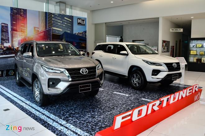 Toyota Fortuner 2021 ra mat Viet Nam anh 1