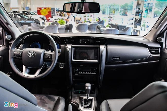 Toyota Fortuner 2021 ra mat Viet Nam anh 3
