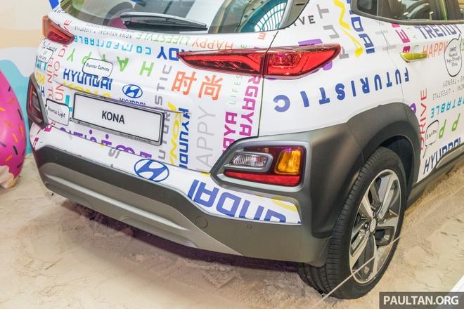 Hyundai Kona duoc ra mat tai Malaysia anh 5