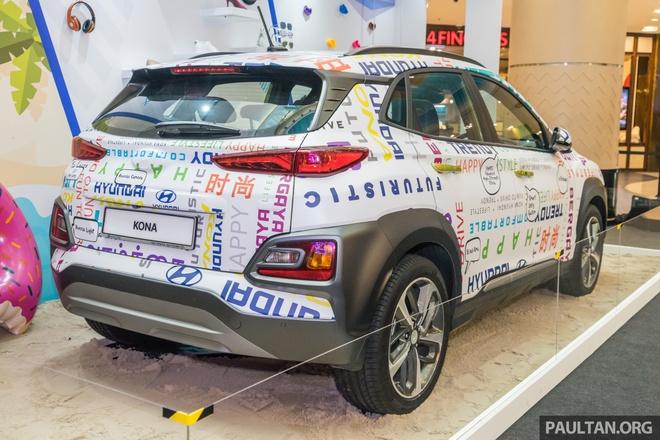 Hyundai Kona duoc ra mat tai Malaysia anh 2