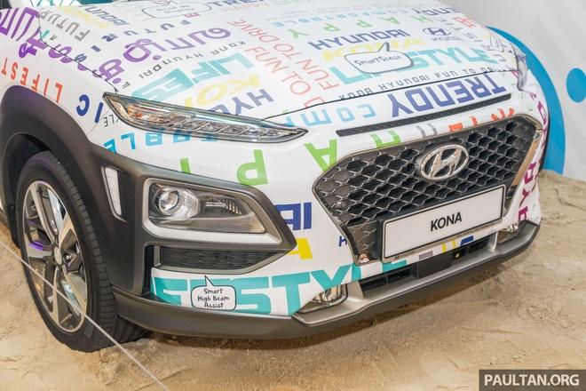 Hyundai Kona duoc ra mat tai Malaysia anh 3