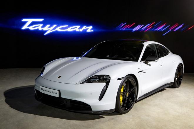 Porsche Taycan ra mat Viet Nam anh 2