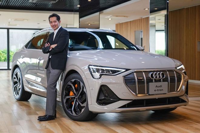 Audi e-tron Sportback co gia 170.000 USD tai Thai Lan hinh anh