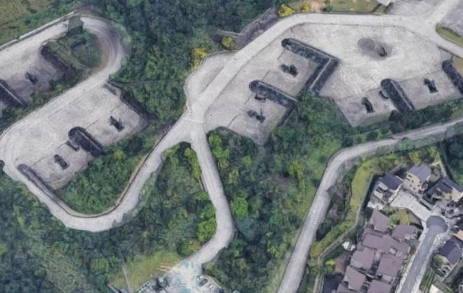Bi mat quan su Dai Loan bi lo vi Google Maps hinh anh